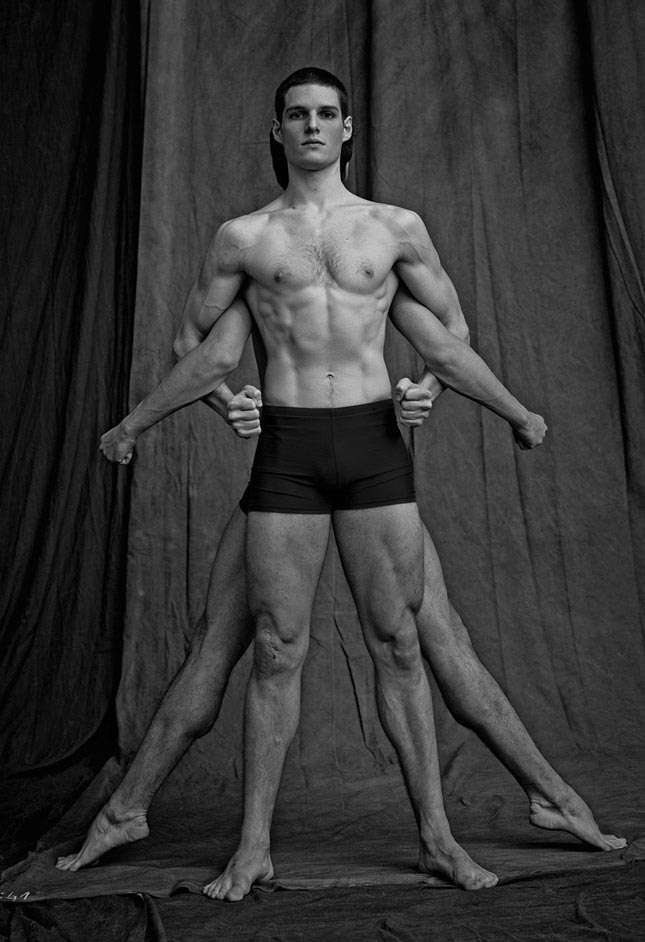 Handsome, buff and talented: Ballet dancers laid bare