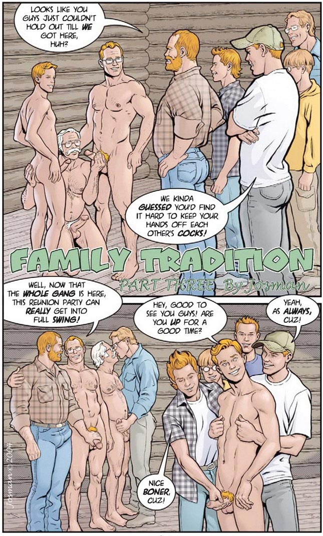 Erotic art: 'Family Tradition part 3' by Josman