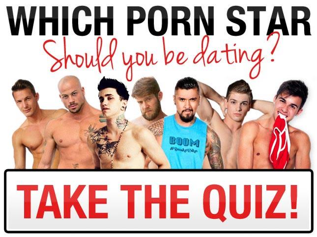 Which gay porn star should you be dating? Take the quiz