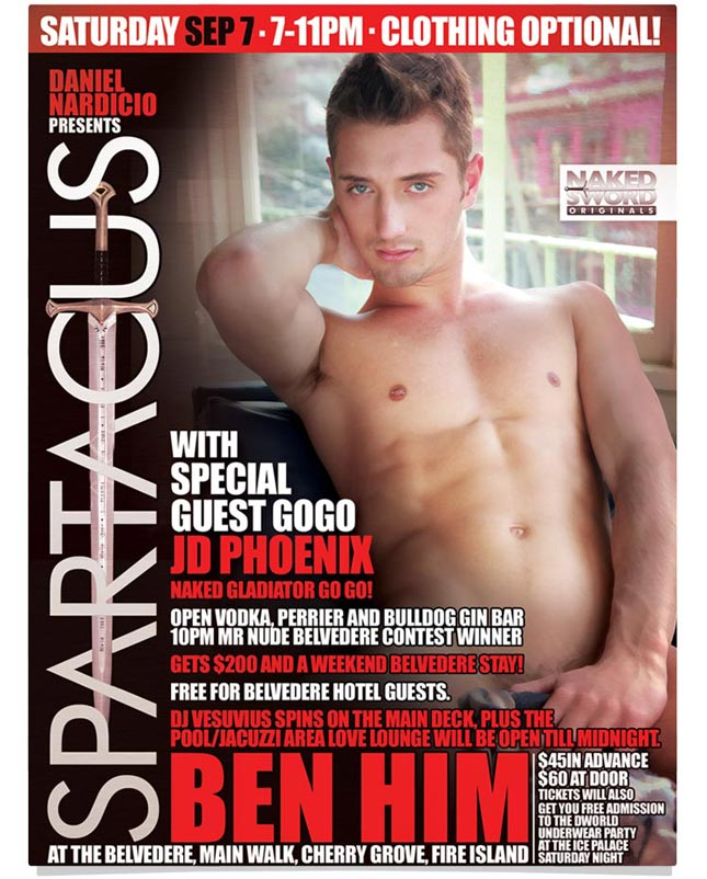 JD Phoenix hits Fire Island for the Underwear Party