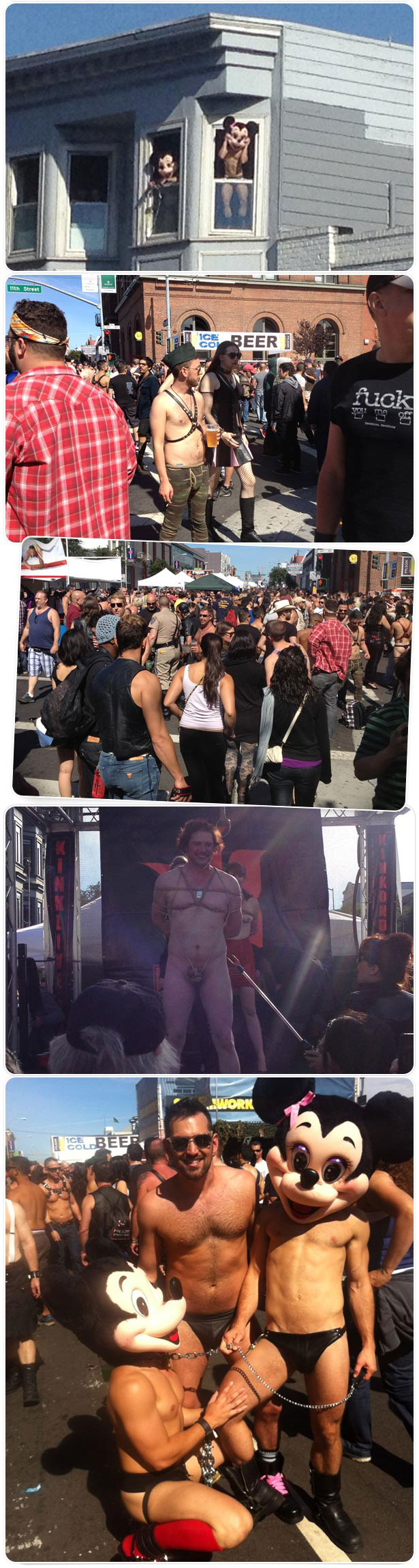 The SF Folsom street fair 2012