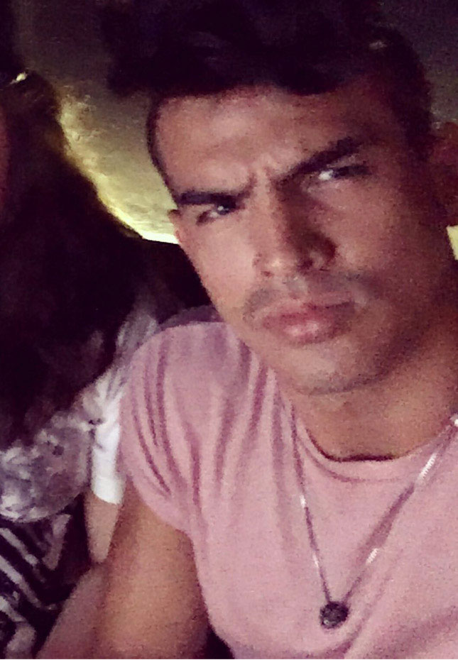 I've fallen in love with Leo Fuentes pout