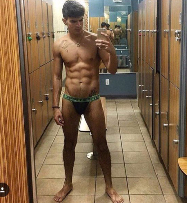Leo Fuentes can't stop posting naked selfies