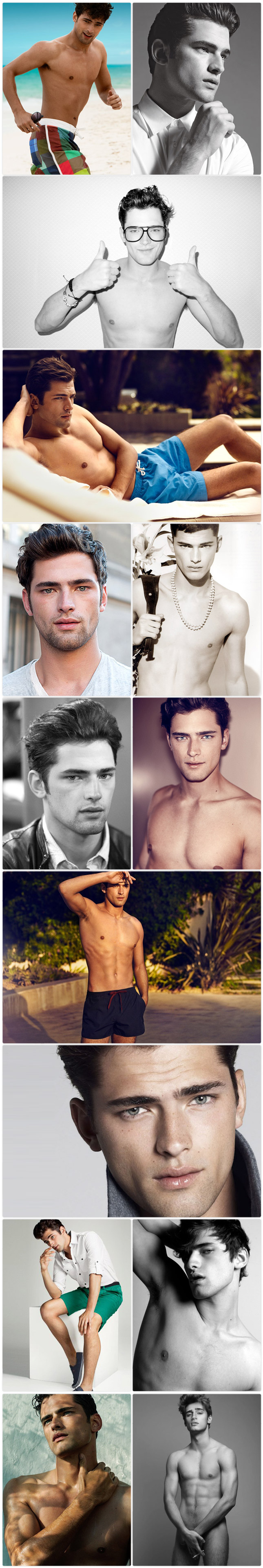 Male model crush of the week: Sean O'Pry