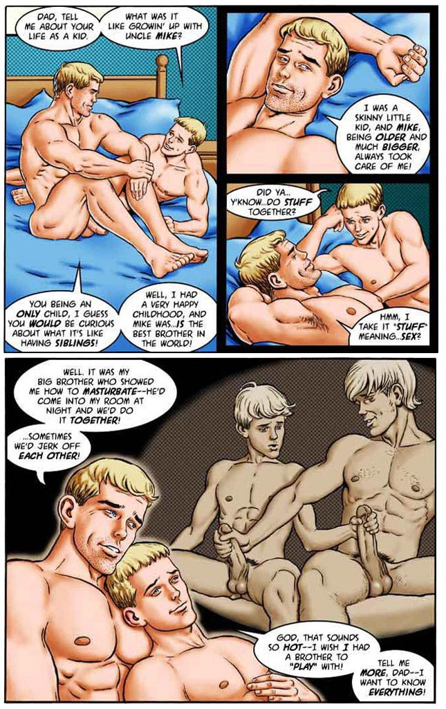 Erotic art: 'My wild and raunchy son' part 2 by Josman
