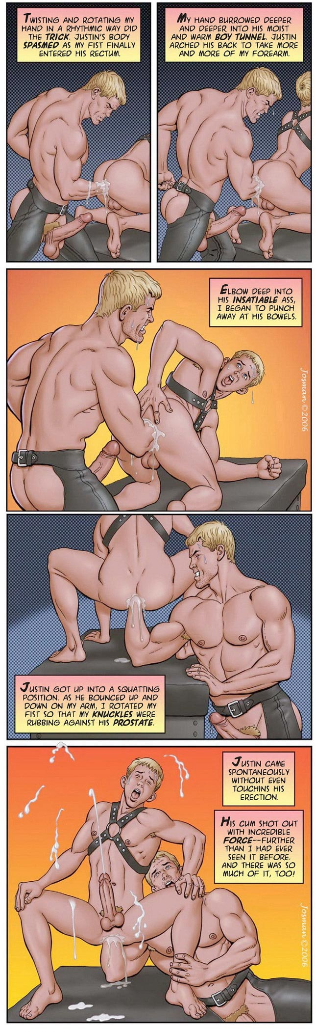 Erotic art: 'My wild and raunchy son' part 3 by Josman
