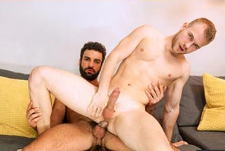 Handsome Seth Santoro takes Rafael Alencar's BIG dick