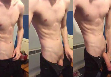 skinny-white-guy-shows-off-huge-cock